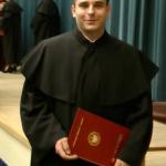 wręczenie dyplomu doktora